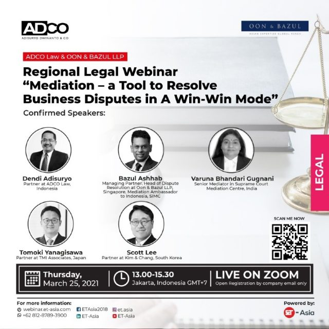 Poster Adco Law Firm Jakarta